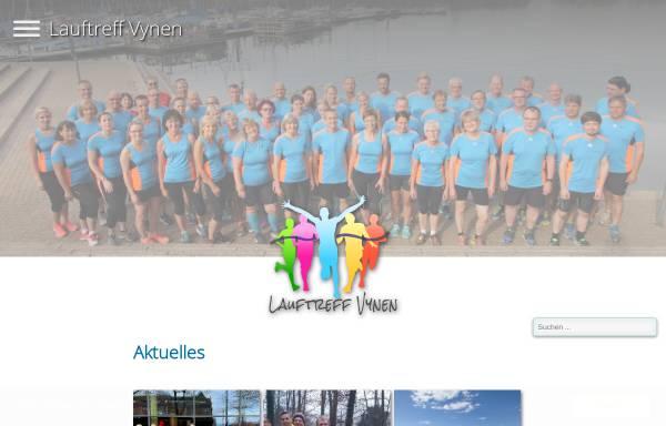 Vorschau von www.lauftreff-vynen.de, Lauftreff Vynen