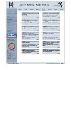 Vorschau der mobilen Webseite www.lauftreff-mondorf.de, Lauf-/Walking- und Inliner-Treff des TuS Mondorf