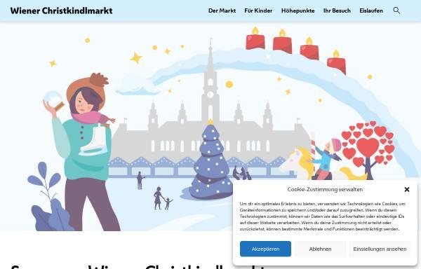 Vorschau von wienerweihnachtstraum.at, Wiener Christkindlmarkt - Stadt Wien Marketing GmbH