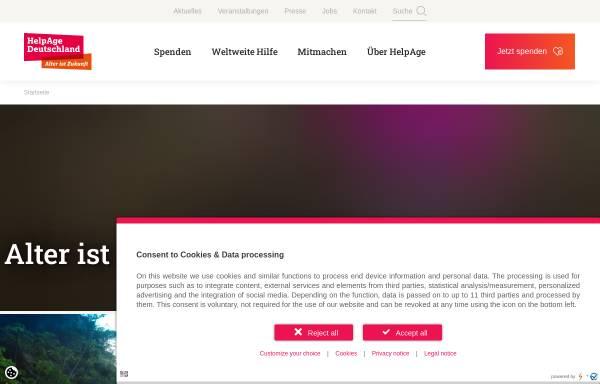 Vorschau von www.helpage.de, HelpAge Deutschland