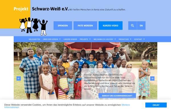 Vorschau von www.kenia-hilfe.com, Projekt Schwarz-Weiß e.V.