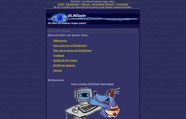 Vorschau von www.blindzeln.org, Blindzeln