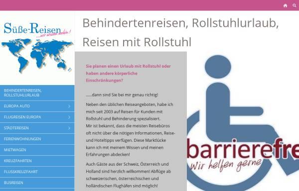 Vorschau von www.suesse-reisen.de, Süße-Reisen