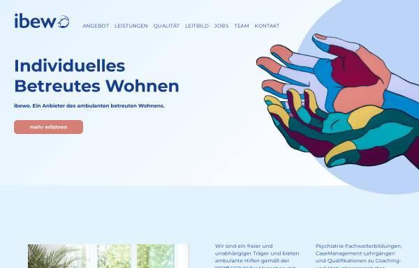 Vorschau von ibewo.de, Individuelles Betreutes Wohnen
