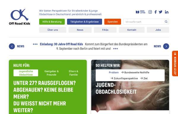 Vorschau von offroadkids.de, Off Road Kids Stiftung