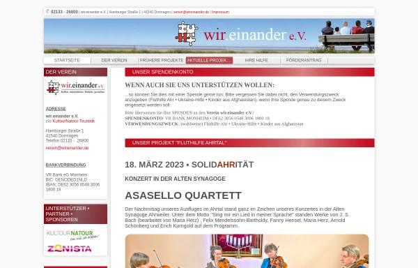 Vorschau von www.wireinander.de, Wir.einander e.V.