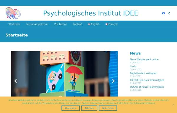 Vorschau von www.institut-idee.de, Institut IDEE