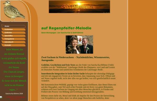Vorschau von www.regenpfeifer-melodie.de, Regenpfeifer-Melodie