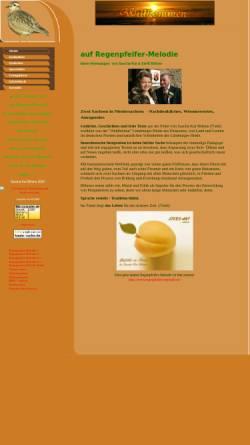 Vorschau der mobilen Webseite www.regenpfeifer-melodie.de, Regenpfeifer-Melodie