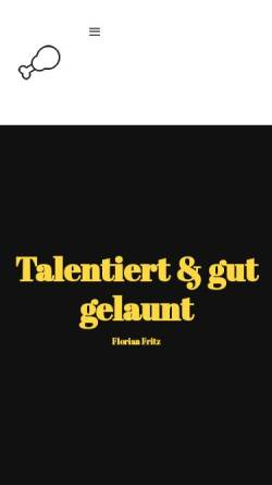 Vorschau der mobilen Webseite flrnhnnfrth.de, Hennefarth, Florian Fritz