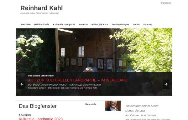 Vorschau von www.reinhardkahl.de, Kahl, Reinhard