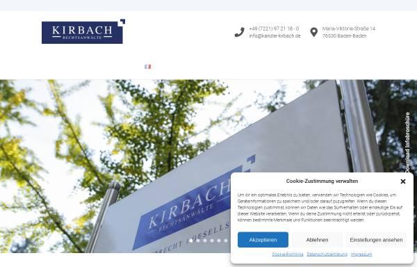 Vorschau von www.kirbach-schroeder.de, Kirbach Schröder