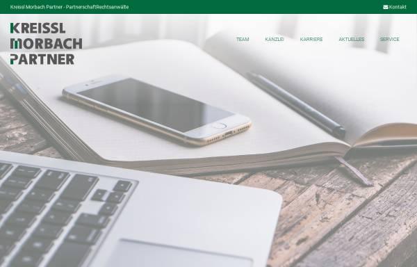 Vorschau von www.kreissl-morbach.de, Kreissl Morbach Rechtsanwälte