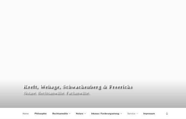 Vorschau von www.anwalt-ol.de, Kreft & Wehage; Notare | Rechtsanwälte | Fachanwälte