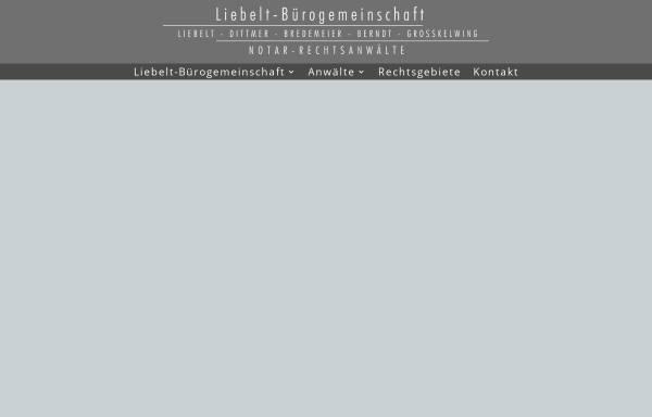 Vorschau von wp-liebelt.design-marketing-schaumburg.de, Kanzlei Liebelt & Koll.