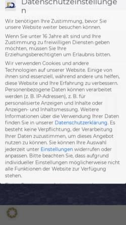 Vorschau der mobilen Webseite www.verkehrsrecht-fachanwalt.com, Kanzlei Fenderl & Dietrich