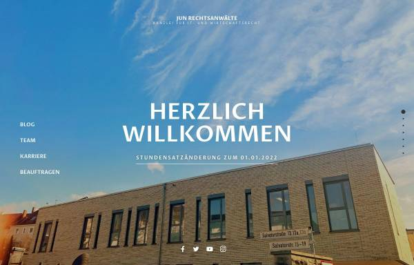 Vorschau von www.junit.de, Jun Rechtsanwälte