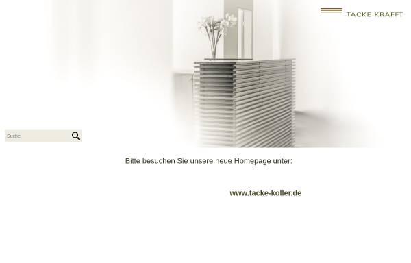 Vorschau von www.tacke-krafft.de, Tacke Krafft
