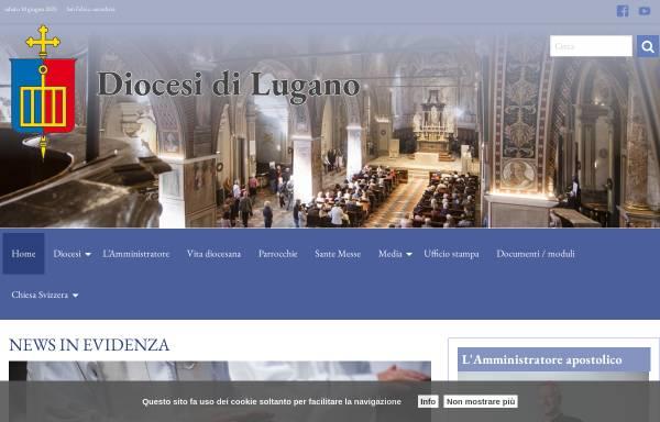 Vorschau von www.diocesilugano.ch, Bistum Lugano