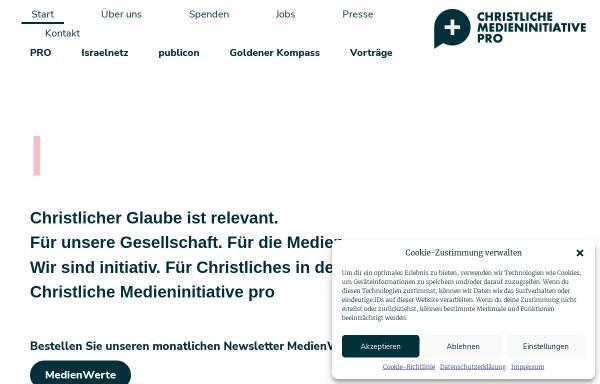 Vorschau von www.kep.de, Christlicher Medienverbund KEP e.V.