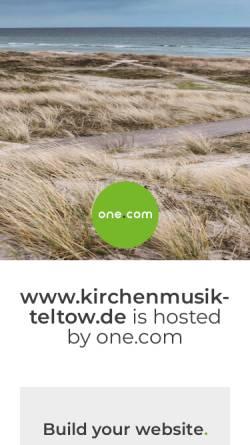 Vorschau der mobilen Webseite www.kirchenmusik-teltow.de, Freundeskreis Konzerte St. Andreas
