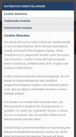 Vorschau der mobilen Webseite www.medizin-individuell.de, Medizin individuell