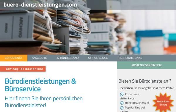 Vorschau von www.buero-sortierdienst.de, Bürosortierdienst