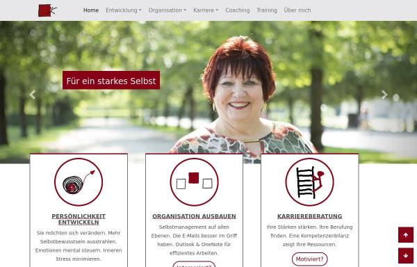 Vorschau von www.mega-coaching.de, Mega Büroorganisation, Inh. Monica Wagner-Manslau
