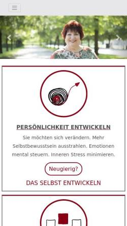 Vorschau der mobilen Webseite www.mega-coaching.de, Mega Büroorganisation, Inh. Monica Wagner-Manslau