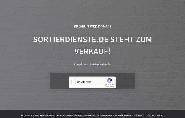 Vorschau von www.sortierdienste.de, MF Büroorganisation, Monika Freytag