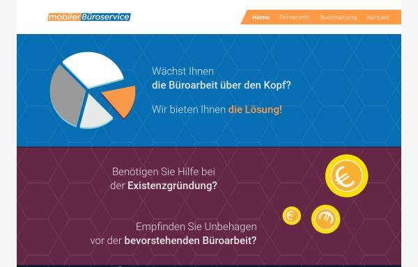 Vorschau von www.mobilerbueroservice.de, Mobiler Büroservice, Beate Eulenberger