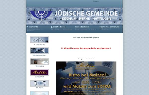 Vorschau von www.jg-bochum.de, Restaurant Matzen Bochum