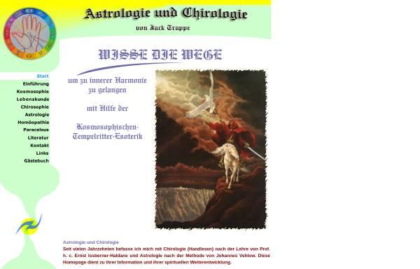 Vorschau von www.astrologie-chirologie.com, Astrologie und Chirologie
