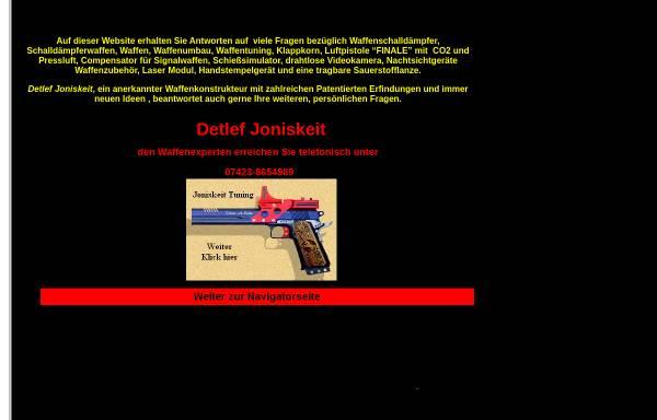 Vorschau von www.joniskeit-1.de, Detlef Joniskeit