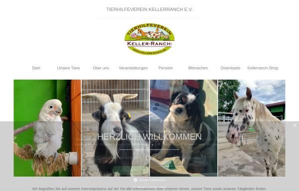 Vorschau von www.kellers-ranch.de, Tierhilfeverein Kellerranch e.V.