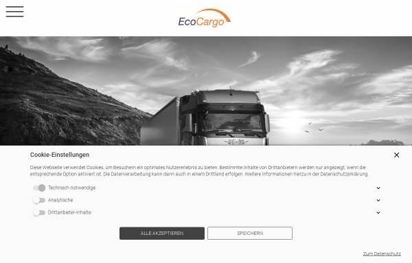 Vorschau von www.ecocargo.de, EcoCargo GmbH
