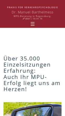 Vorschau der mobilen Webseite www.auto-nom.de, Barthelmess, Dr. Manuel