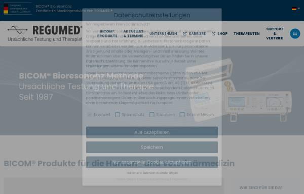 Vorschau von www.regumed.de, Regumed Bicom Bioresonanz
