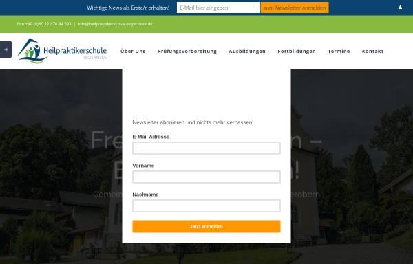 Vorschau von www.heilpraktikerschule-tegernsee.de, Heilpraktikerschule Tegernsee
