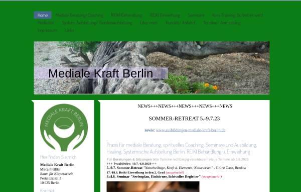 Vorschau von mediale-kraft-berlin.de, Mediale Kraft Berlin
