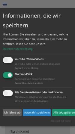 Vorschau der mobilen Webseite www.sylvia-philippi.de, Sylvia Philippi - Coaching mit Herz
