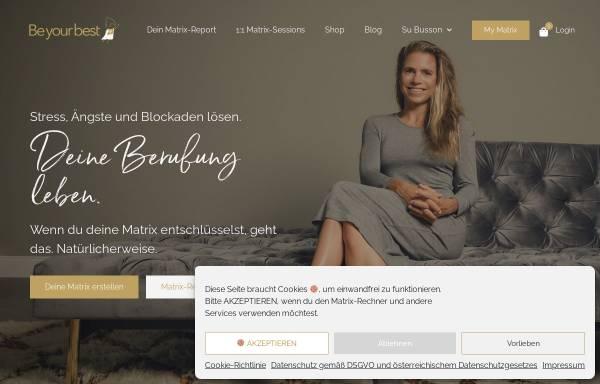 Vorschau von www.beyourbest.at, Mag. Busson
