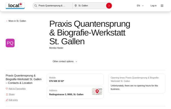 Vorschau von quantensprung-coach.com, Quantensprung-Coach
