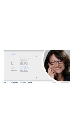 Vorschau der mobilen Webseite www.iristhalheimer.de, Iris Thalheimer