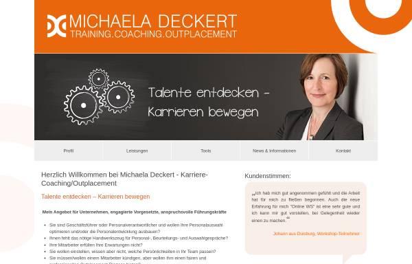 Vorschau von www.michaela-deckert.de, Michaela Deckert