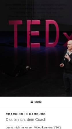 Vorschau der mobilen Webseite hamburg.coaching-riehm.de, Prof. Dr. Philipp Riehm