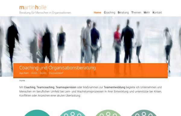 Vorschau von martin-holle.de, Martin Holle – Beratung für Menschen in Organisationen