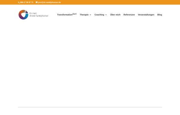 Vorschau von www.dr-sanktjohanser.de, Dr. med. Amelie Sanktjohanser