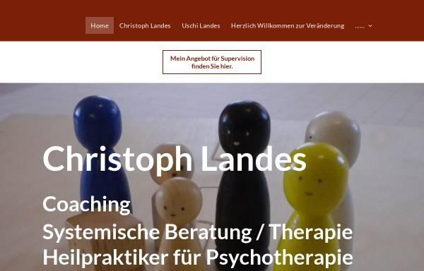 Vorschau von www.die-landes-seite.de, Christoph Landes - Heilpraktiker für Psychotherapie