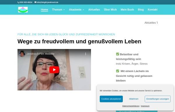 Vorschau von www.birgitt-jendrosch.de, Studio für aktive Lebensgestaltung